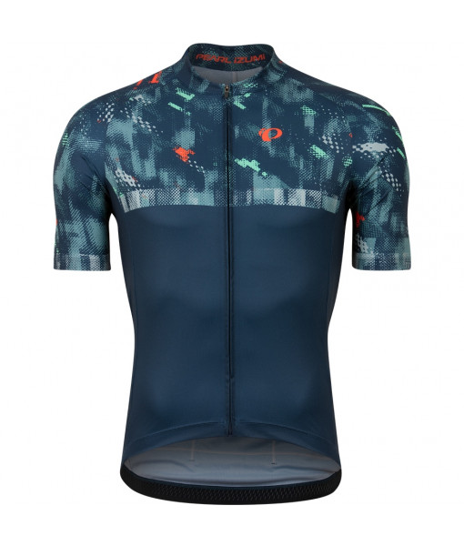 Jersey Pearl Izumi Attack Homme, Navy/Disrupt