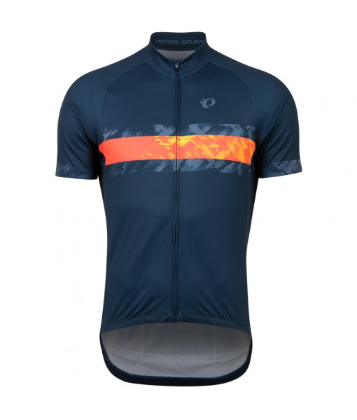 Jersey Pearl Izumi Classic Homme, Navy/Screaming Red Disrupt