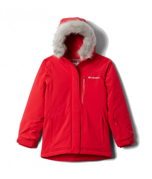 Manteau Columbia Ava Alpine Fille, Red Lily