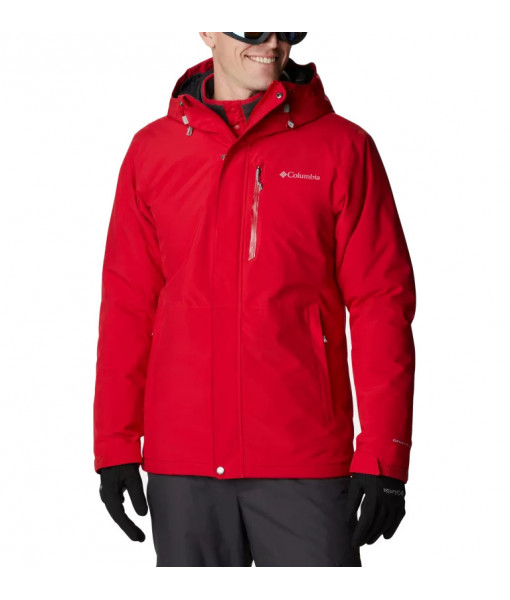 Manteau Columbia Winter District Homme, Mountain Red