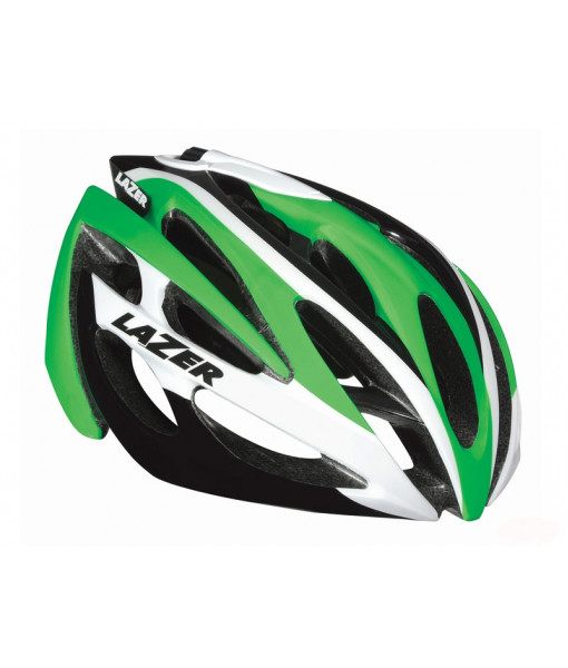 Casque Lazer 02 Race, Green / White, Taille unique