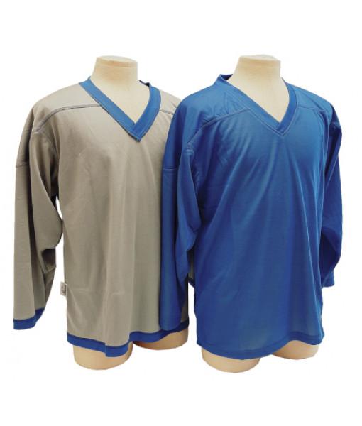 Chandail Réversible Hockey Plus, Royal/Gris