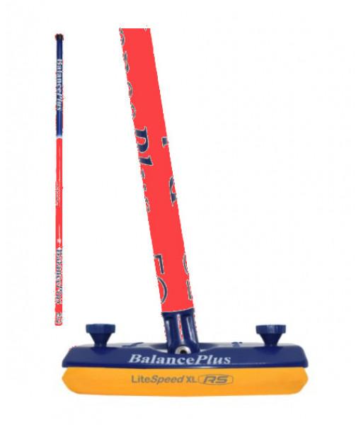 Balai Balance Plus Equal Carbon Orange/Bleu, RS XL 9'' Bleu