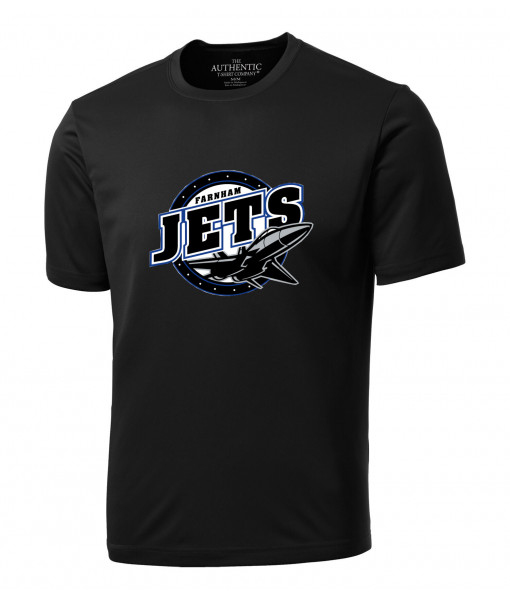 T-shirt Jets de Farnham 350 Noir, Junior ou Senior