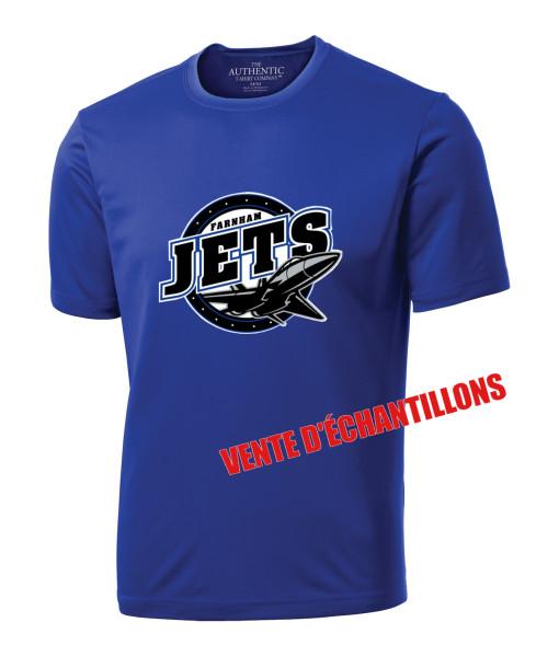 T-shirt Jets de Farnham 350 Bleu, Junior ou Senior