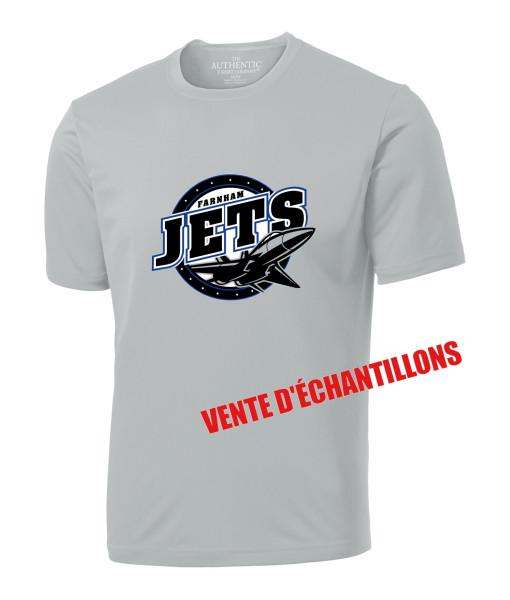 T-shirt Jets de Farnham 350 Gris, Junior ou Senior