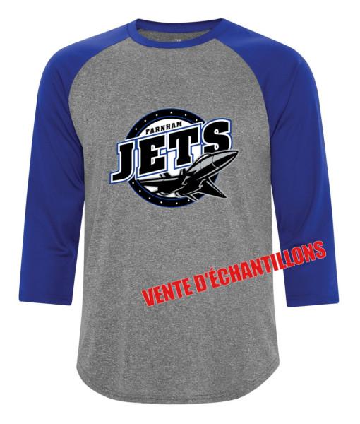 T-Shirt Jets de Farnham 3526 Gris/Bleu, Junior ou Senior