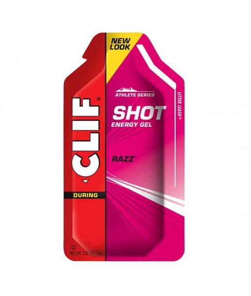 Gel Clif Energy Shot, Framboises 34g