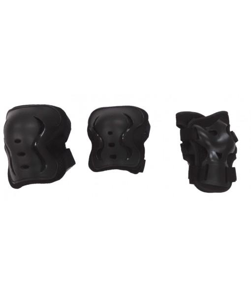 Équipement De Protection Aktion, Junior, Noir